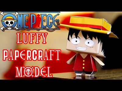 LUFFY ONE PIECE Pirate Papercraft from Kobico