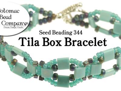 Make a Tila Box Bracelet