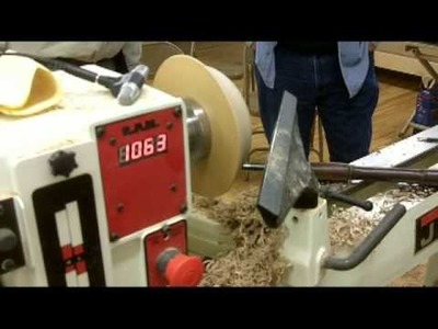 Part 1-Bowl Turning by Ernie Conover Presented by Woodcraft