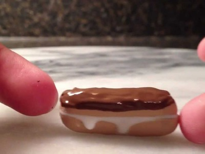 Polymer Clay Eclair - Tutorial!