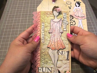 Scrapbook: Prima Doll Tags
