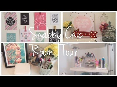 Shabby Chic DIY Bedroom Tour