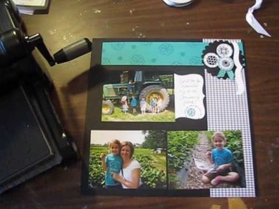 Stampin' Up Top Note Bracket with Circle Circus Stamp Set