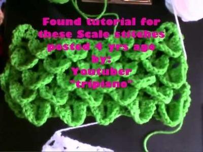Waffles & Scales Crochet Afghans.wmv