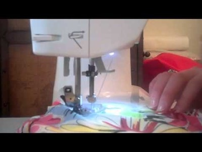 Day 3 Part 1: Sewing the Skirt of the Dress to the Bodice.