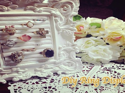 ♛ DIY Easy and Affordable Ring Display ♛