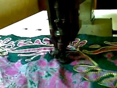 Embroidery  chain stitch  4