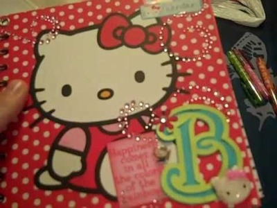 Hello Kitty Swap Calendar