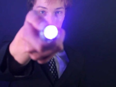 HOW TO: Build a Dr. Who Sonic Screwdriver!