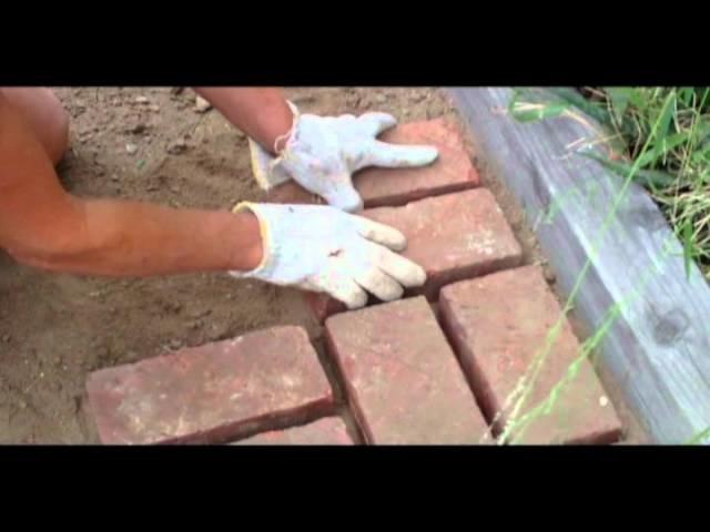 How to Lay Bricks