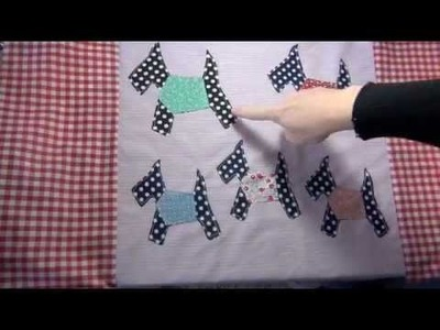 How to make a quilted tote bag