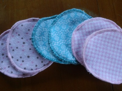 How to make cloth nursing pads