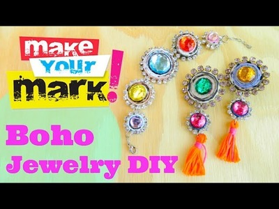 How to: Make Colorful Bohemian Jewelry