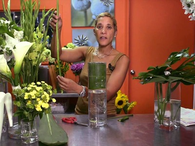 How to Make Tall Centerpieces : Wedding Flowers & Centerpieces