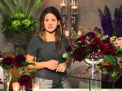 Ideas for Wedding Table Flower Arrangements : Flower Power