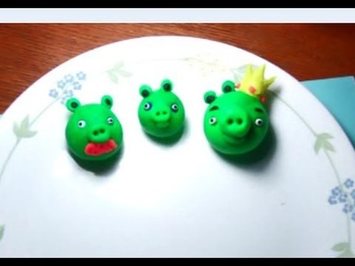 Play-doh angry birds pigs