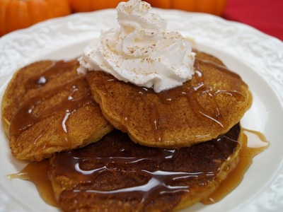Pumpkin Pancakes - How To Recipe - Pumpkin Spice Pancakes - Diane Kometa-Dishin' With Di: Video: #14