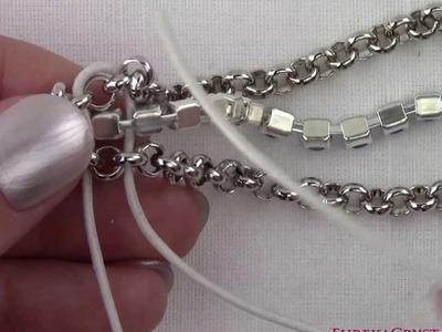 Rolo Cup Chain Bracelet tutorial