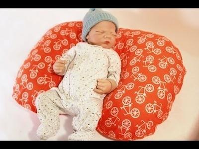 Sew A Poppy Pillow Slipcover (FREE PATTERN, fits Boppy!)