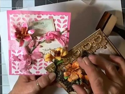Spellbinders - Create-a-Lily Cards