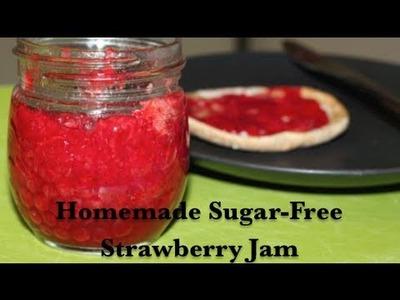 Sugar-Free Strawberry Jam (Recipe & Canning How-To)