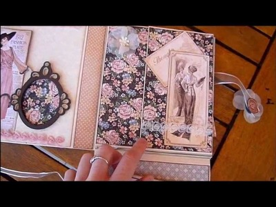 A Ladies Diary Mini Album Insert