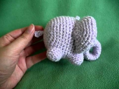 Amigurumi - Elephant (No Audio)