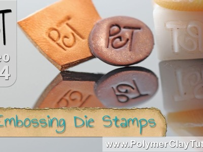 Custom Design Embossing Die Stamps for Polymer Clay