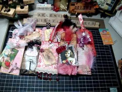February's Vintage Valentine Tags! (Part 1 of 2)