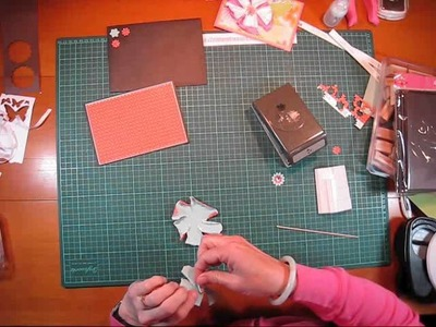 Handmade Flower Card Tutorial by Trish and Treasure