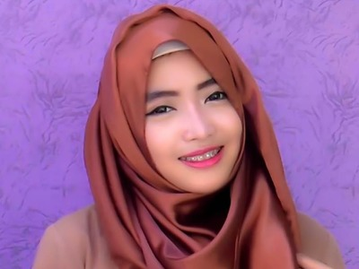 Hijab Tutorial Pashmina | Wide Shawl Simple