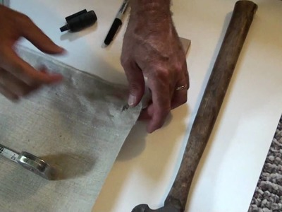 How to Install Grommets in Artists Canvas for Hanging Art Installations