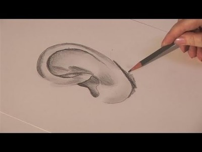 How To Learn Drawing An Ear