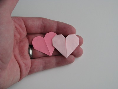 How To Make A Paper Heart (HD)