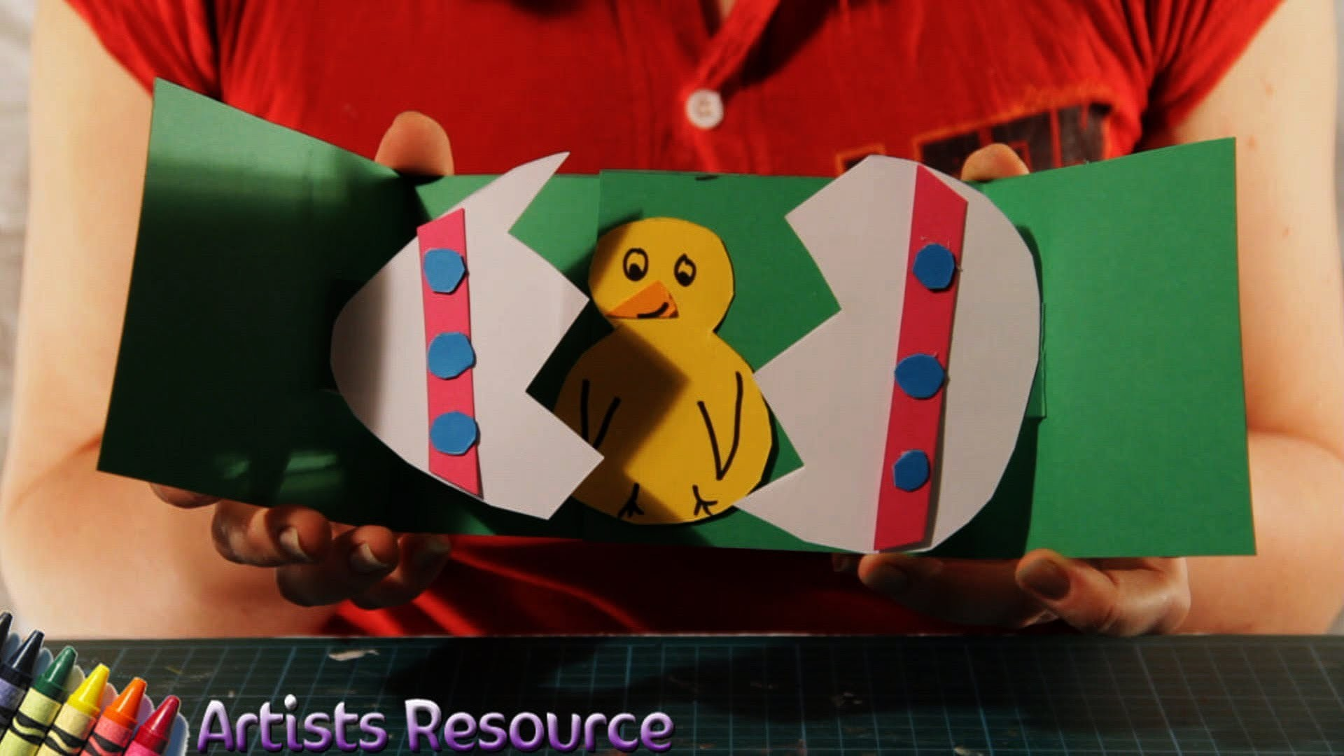 How to Make an Easter Pop-Up Card