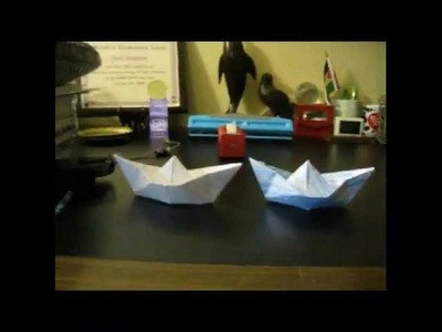 How to Make Waterproof Paper Boats