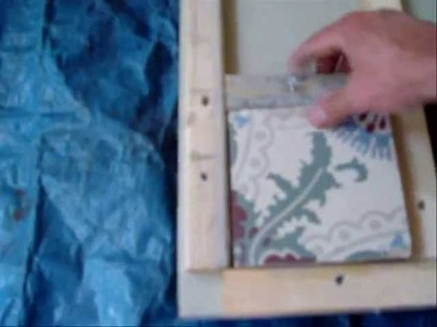 How to make your own cement tiles - Hoe maak je zelf cementtegels
