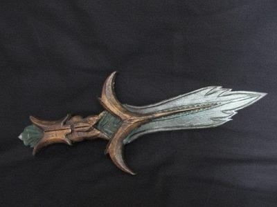 Make the Glass Dagger from Skyrim