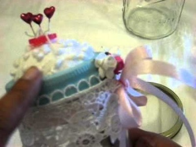 Mason Jar Pincushion How to 11-18-2011