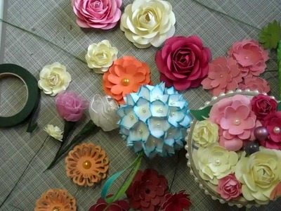 Mother's Day Bouquet paper flower tutorial