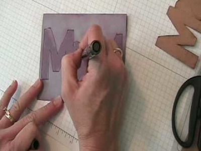 Mother's Day Card in 4 Minutes or Less
