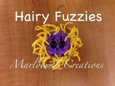 Rainbow Loom Hairy Fuzzie