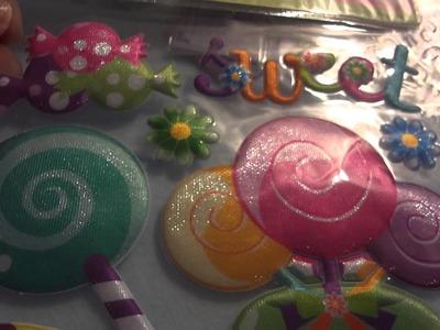 Sticker & Glitter Haul!! I LOVE THE DOLLAR STORE!!!