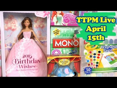 Win Crayola, Barbie, Ever After High and more at #TTPMlive
