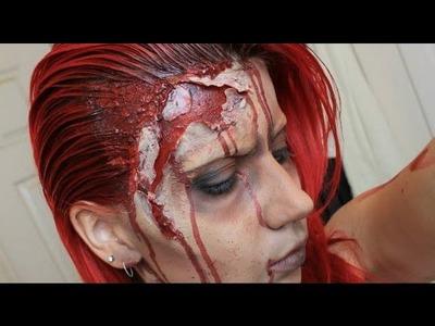 Zombie Makeup Tutorial - Halloween