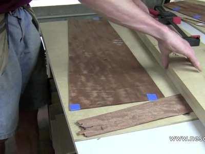 Creating a Bookmatched Veneer Panel - Part 2