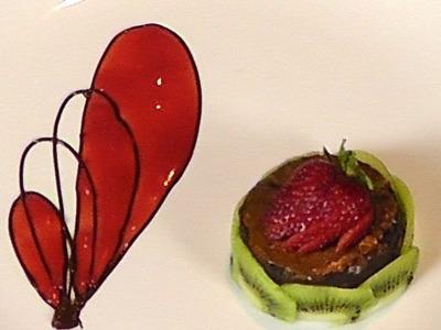 Desserts Plating Decoration Ideas - Dessert Design - Decoration - Chocolate Garnishes - Chocolate