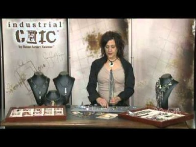 EARRINGS & RING Tutorial with Susan Lenart Kazmer