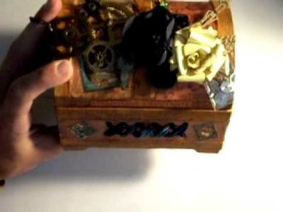 Graphic 45 Steampunk Debutante Altered Box Chest
