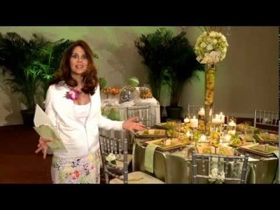 How to Create a Dramatic Reception Reveal on a Budget. Tips from Samantha Goldberg and Party City.